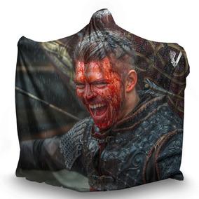 Manta Com Capuz Ivar The Boneless Vikings Ragnar Lothbrok