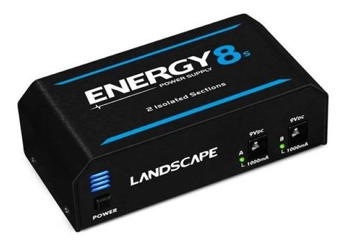 Imagem 1 de 3 de Fonte Para Pedal Landscape Energy 8s 2000ma Bivolt 10pedais