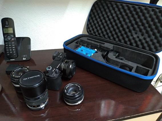 Sony A6300 + Lentes + Gimbal
