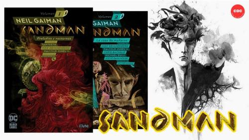 Imagen 1 de 8 de Sandman Tomos 1 2 3 4 5 6 7 8 9 10, Neil Gaiman, Ed. Ecc