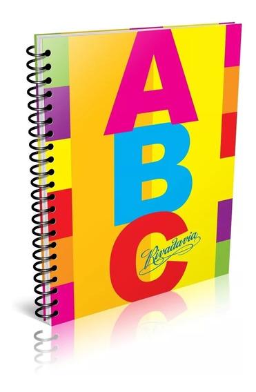 Cuaderno Rivadavia Abc Espiralado 100h Rayado O Cuad
