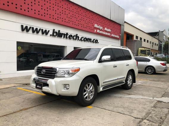 Toyota Sahara Lc200 Vx.r Blindada 4.5 Td At 4x4 Blanco 2014