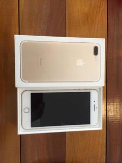 Celular iPhone 7plus Dourado 128gb