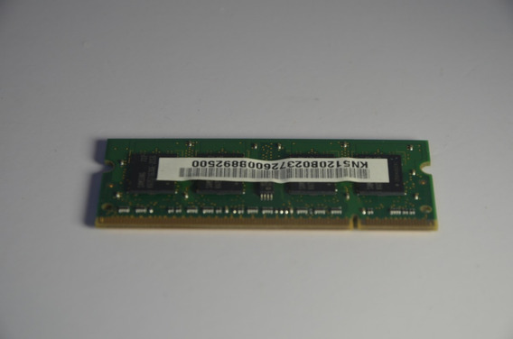 Memória Ram Samsung 5300s Pc2 - 512mb Ddr2 667mhz 2rx16