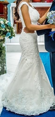 Vestido De Noiva Usado 1 Vez