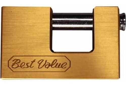 Candado Anti Robo Anti Cizalla Bronce 94mm Best Value G P