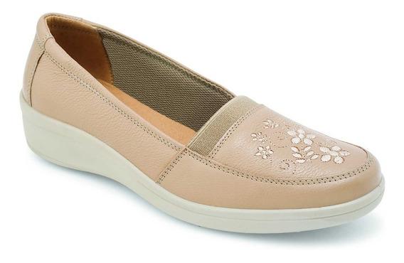 Zapato Confort Para Dama Negro - Nude Flexi 32606
