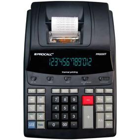 Calculadora De Mesa 12 Dígitos Impressão Digital Pr5000t