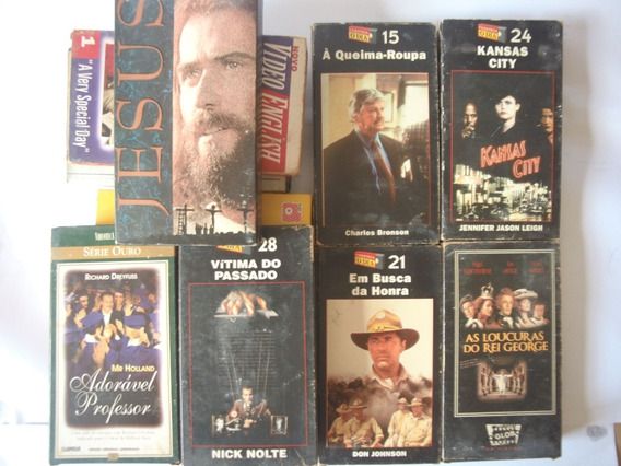 Lote Com 11 Filmes Em Fita Vhs (leia Descrição)