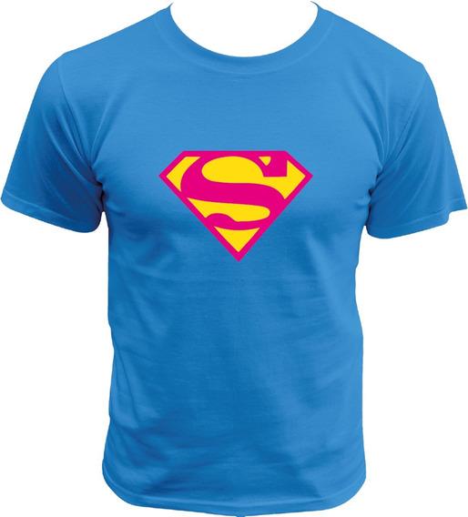 Playera De Supergirl Justice League Dc Comics