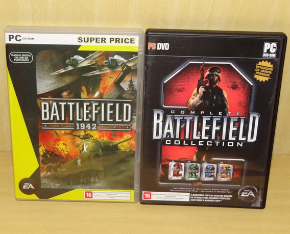Battlefield 1942 + Battlefield 2 - Complete Collection - Pc