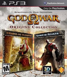 God Of War Origins Collection Ps3 Original Play 3 Digital