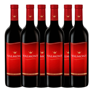 Vino Valmont Blend Tinto 750ml Botella Bebidas Caja X6 Pack