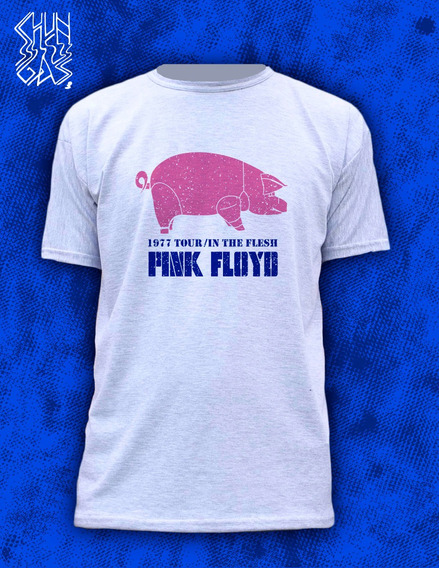 Remera / Pink Floyd / Animals In The Flesh / Waters Gilmour