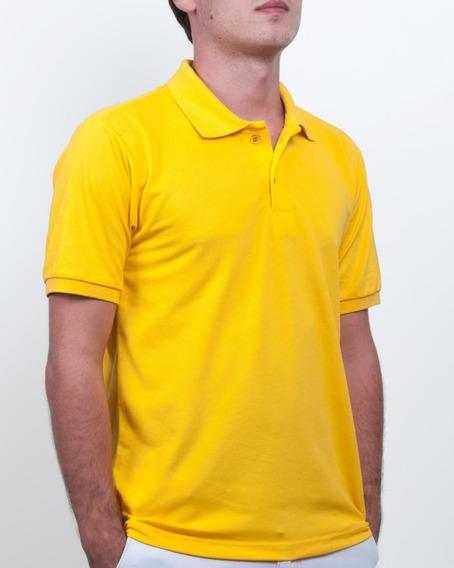 Gola Polo Bordada Uniforme Curso Empresarial Personalizada