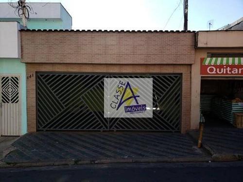 Imagem 1 de 8 de Vendo Casa Terrea  Com 3 Dormitórios 130 M² Por R$ 369.000 - Jardim Santa Cristina - Santo André/sp - Ca0172