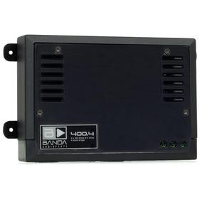 Módulo Amplificador Digital Banda 2.4d Preto 4ch 400 Wrms
