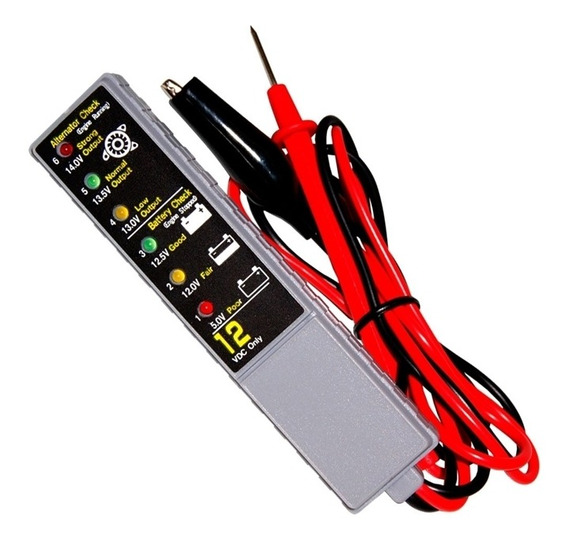 Mini Teste De Bateria E Alternador Automotivo 12v 680684