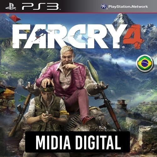 Imagem 1 de 3 de Far Cry 4 Dublado - Ps3 Psn.