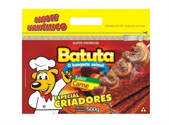 Bifinho Batuta Carne - 500g Super Premium Barato