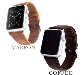 Correa De Piel Retro Premium Para Apple Watch + Mica Y Case