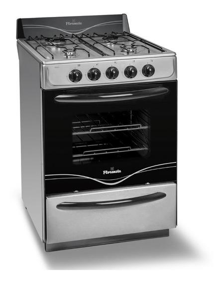 Cocina Florencia 56 Cm 5518f Multigas Acero Inox Oferta