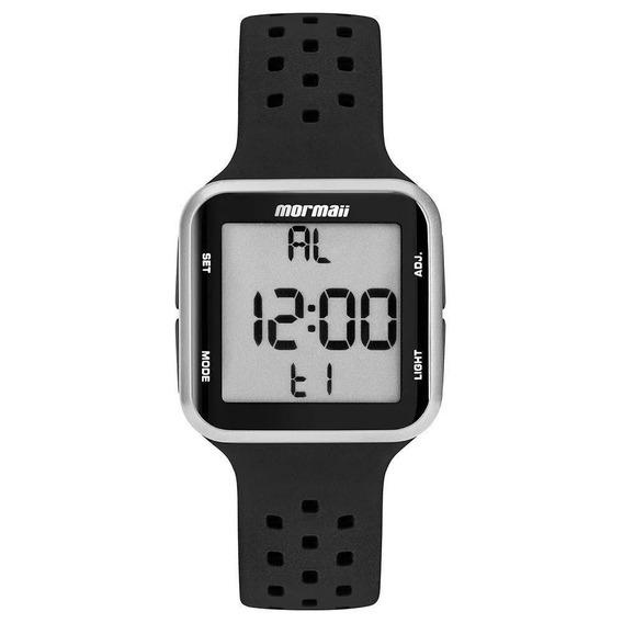 Relógio Mormaii Unissex Preto Original Wave Mo6600aa/8k C/nf