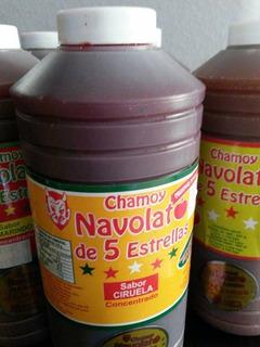 Chamoy Navolato Caja 15 Botellas Sabor Ciruela + Regalo