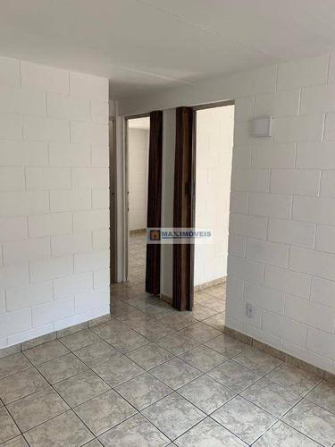 Apartamento Com 2 Dormitórios À Venda, 47 M² Por R$ 220.000 - Centro - Atibaia/sp - Ap0101