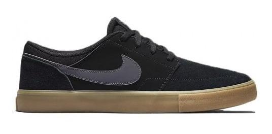 Zapatillas Nike Sb Portmore Ii Solar Blk/dkg/gum