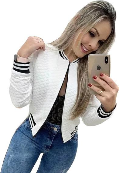 Casaco Bomber Feminino Blusa De Frio Promoção