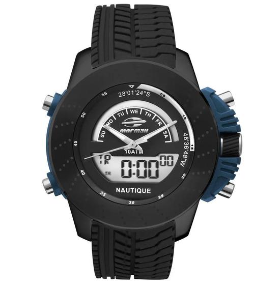 Relógio Mormaii Masculino Nautique Original C/ Nf Mova002/8p