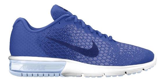 Tenis Nike Mujer Azul Air Max 852465404