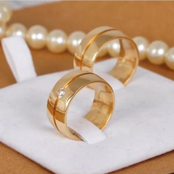 Alianças Par Casamento Noivado 10mm Moedas Antigas Oferta