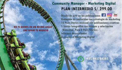 Manejo Y Gestión De Redes Sociales, Community Manager