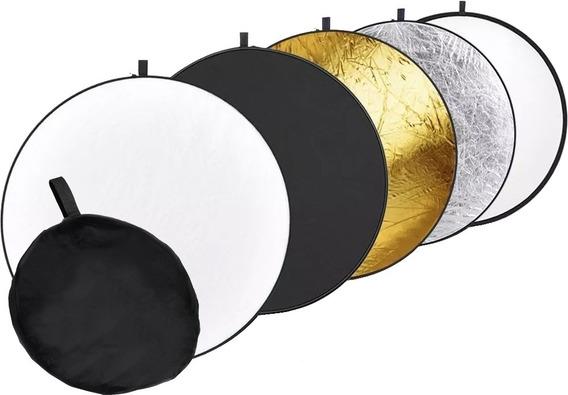 Rebatedor Circular 5x1 Com 105cm + Bolsa