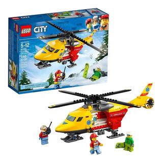 Lego City Helicoptero Ambulancia Juguetes Niño / Niña