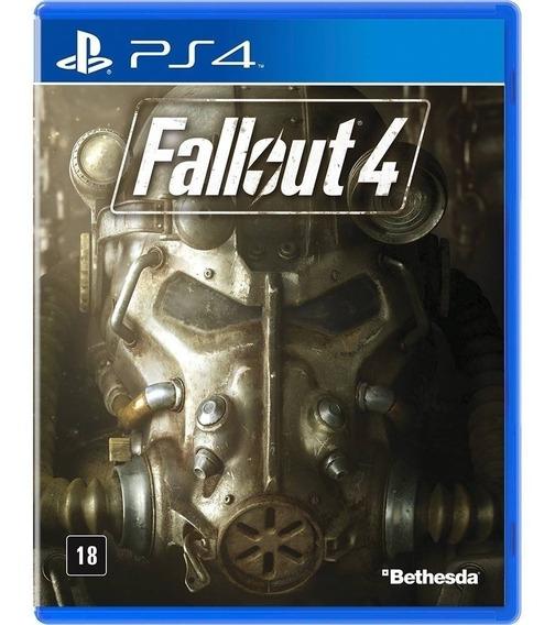 Ps4 Fallout 4 Mídia Física Lacrado Em Português