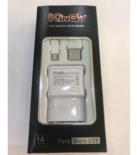 Kit 10 Carregador Kingo Para V8 Micro Usb