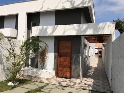 Casa Nova No Jardim São Fernando, Em Itanhaém, Cod.5823