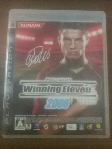Winning Eleven 2008 (pes) Para Colecionador.