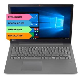 Notebook Lenovo V330 I3 4gb Ddr4 1tb 15.6p Gtia Oficial Pce