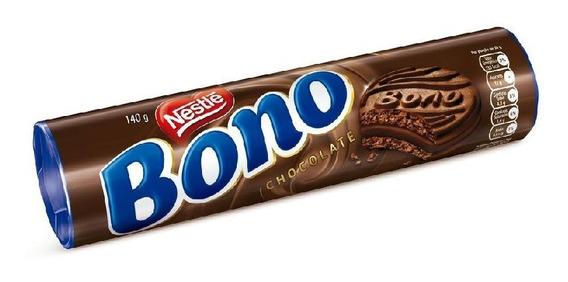 Biscoito Bono Recheado Chocolate 140g