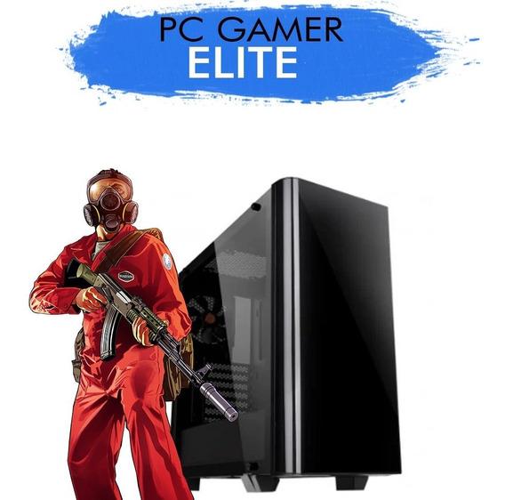 Pc Gamer Core I5-8600 Gtx1050ti 4gb 1tb 8g Ram + Nfe