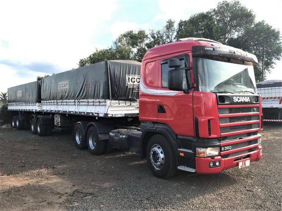 Conjunto Scania 124 360 Com Bitrem