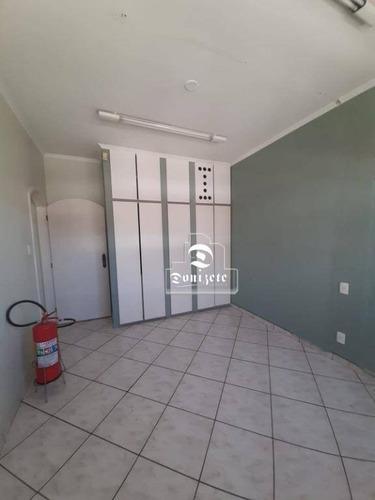 Salão Para Alugar, 104 M² Por R$ 2.200,00/mês - Campestre - Santo André/sp - Sl0153