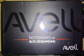 Notebook Avell Titanium