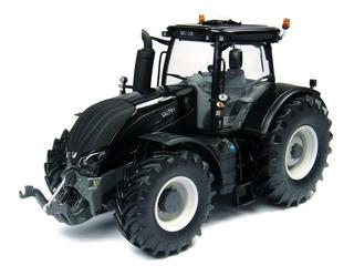 Miniatura Trator Agricola Valtra S Series. Escala 1/32 Black