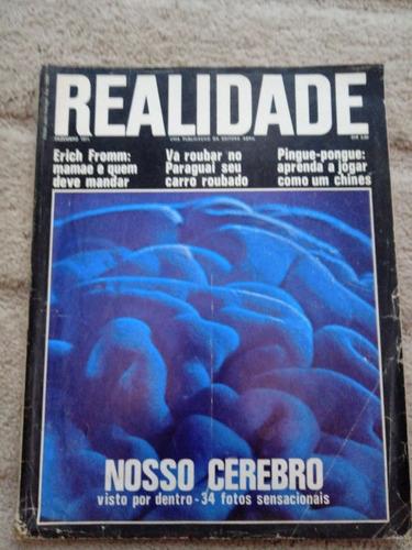 Revista Realidade Nº 69 -de 1971 . Politica Prop. Sumario