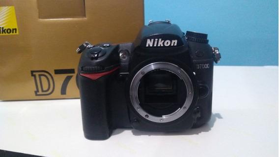 Nikon D7000 (body) Con Caja Y Manuales. Acepto Canje.